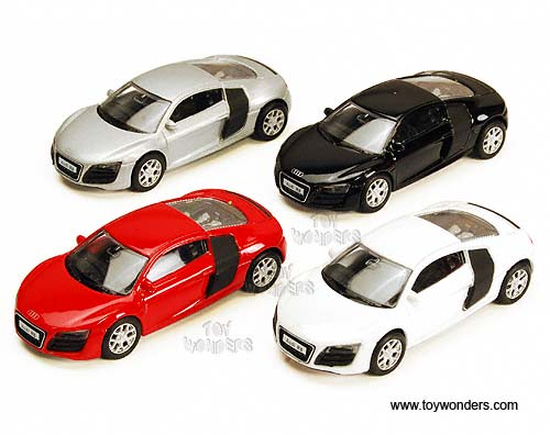 "Audi R8 Hard Top (3"", Assorted Colors) - Color may vary - Price is for individual item"