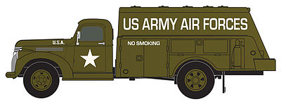 HO scale 1941/46 US Army Chevy Tank Truck