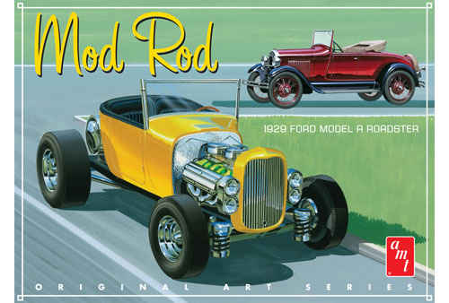 1929 Ford Model A Roadster Mod Rod 1:25 Scale