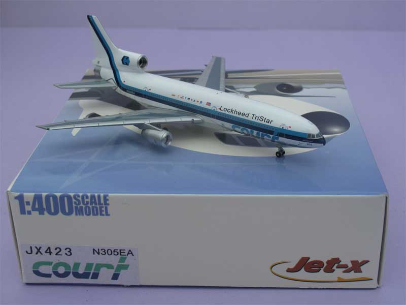 Eastern L-1011 Tristar with Court Titles ~ N305EA (1:400)