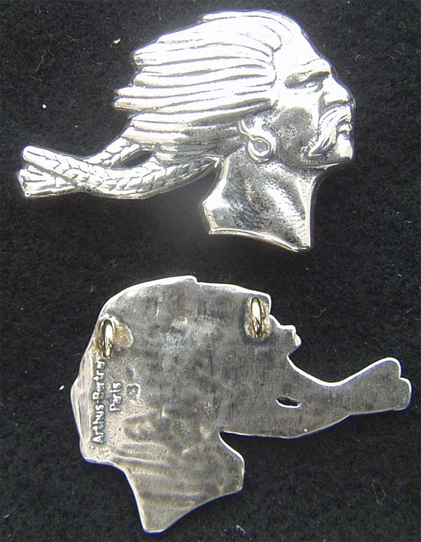 WWI French Squadron BR227 Sterling Badge WWI, French Pilot, WWI France, WWI Pilot, BR227, Sterling Pilot wing, French Pilot wing