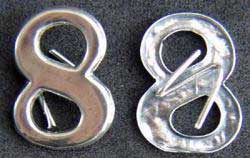 Civil War Insignia 8 Sterling