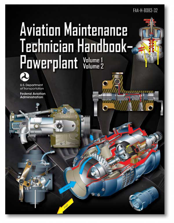 Aviation Maintenance Technician - Powerplant, vol. 1 & vol. 2